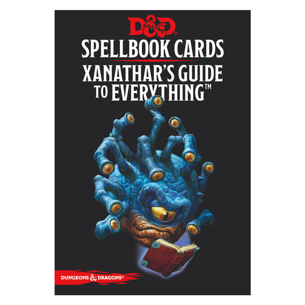 D&D Spellbook Cards Xanathar's Guide to Everything Deck - Imaginary Adventures