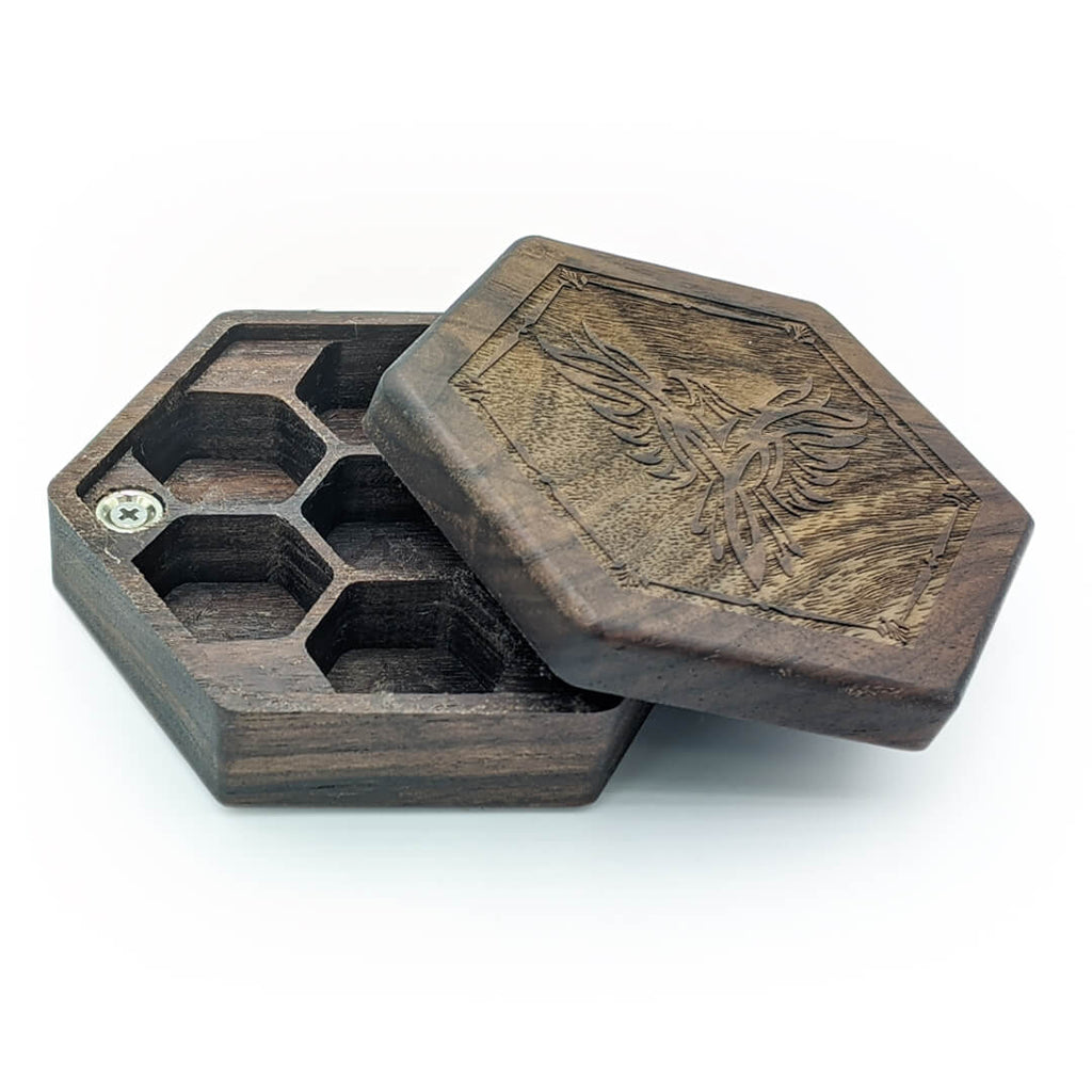 Elderwood Academy Hex Chest - Walnut - Imaginary Adventures
