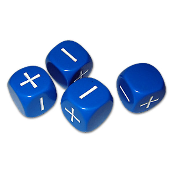 Fudge 4 Dice Set - Blue - Imaginary Adventures
