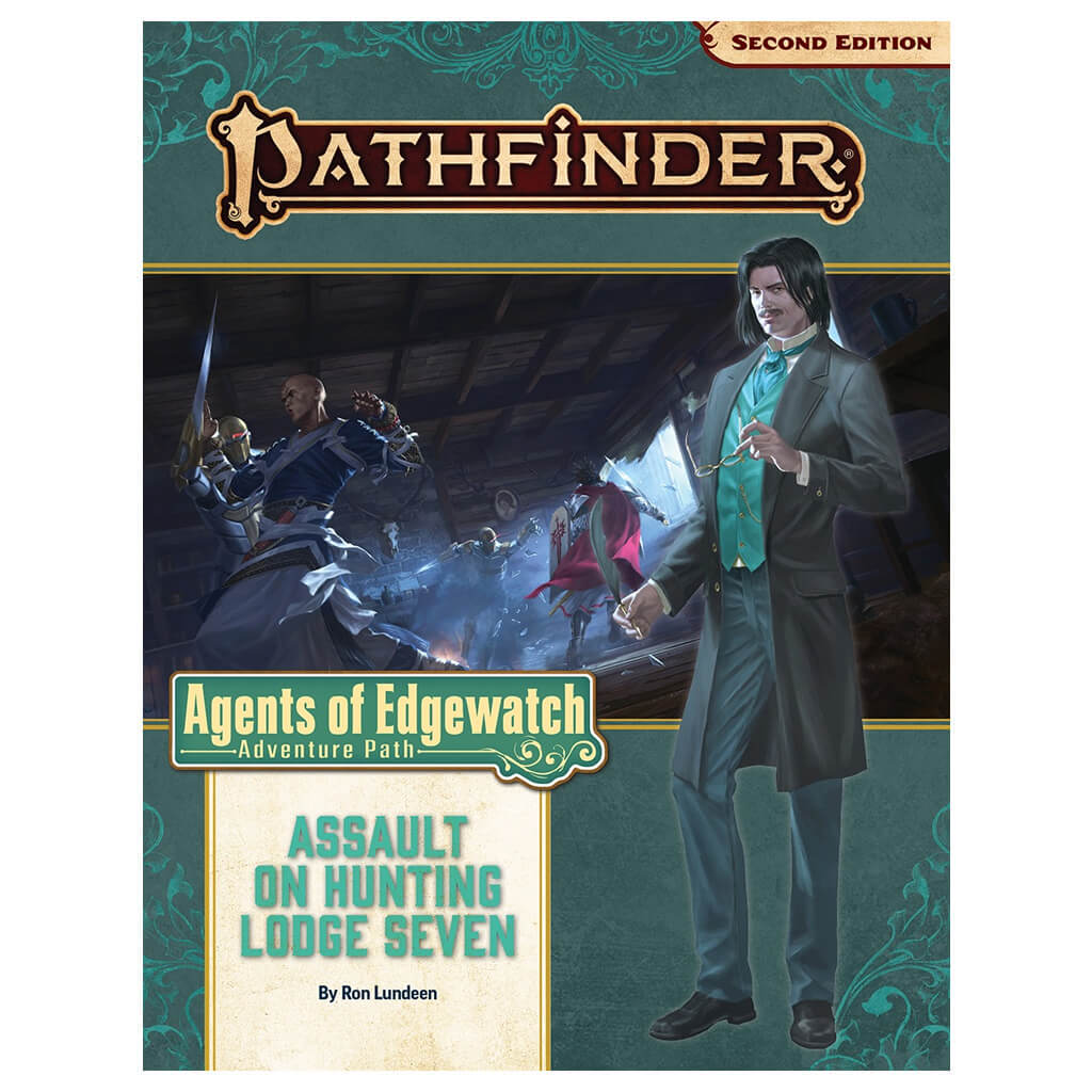Pathfinder Adventure Path - Assault on Hunting Lodge Seven (Agents of Edgewatch 4 of 6)