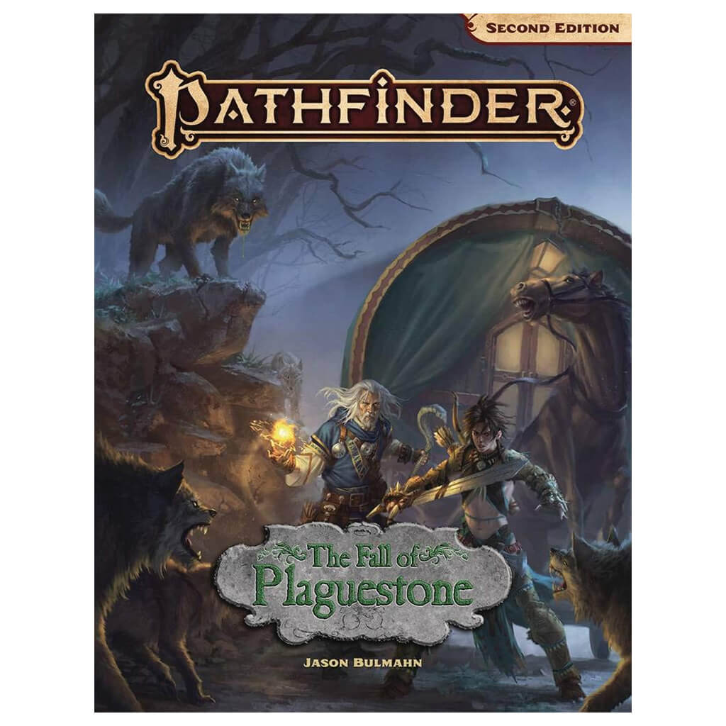 Pathfinder Adventure -The Fall of Plaguestone