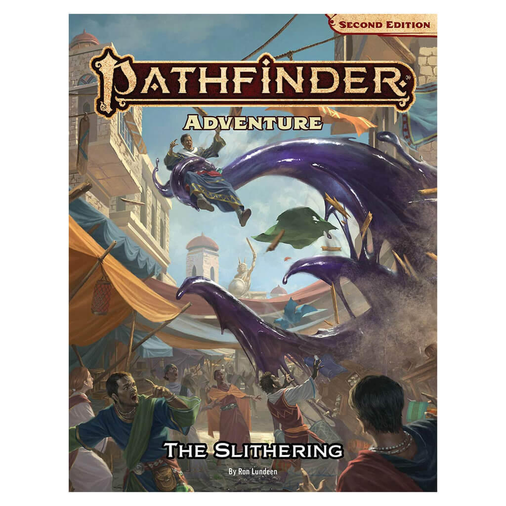 Pathfinder Adventure - The Slithering