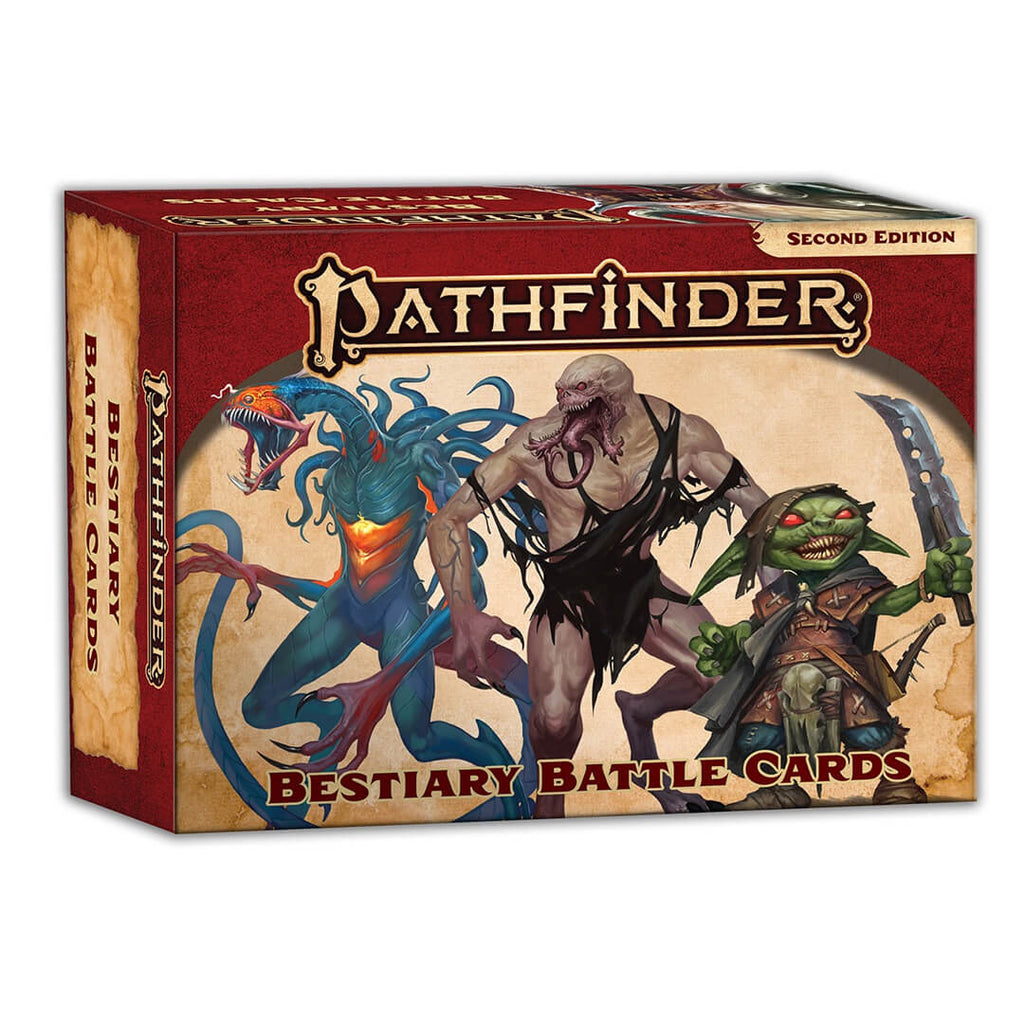 Pathfinder Second Edition Bestiary Battle Cards - Imaginary Adventures