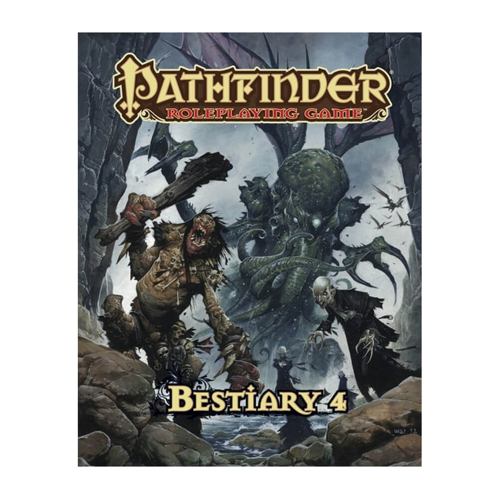 Pathfinder Bestiary 4 - Imaginary Adventures