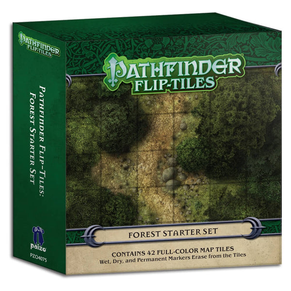 Pathfinder Flip Tiles Forest Starter Set - Imaginary Adventures