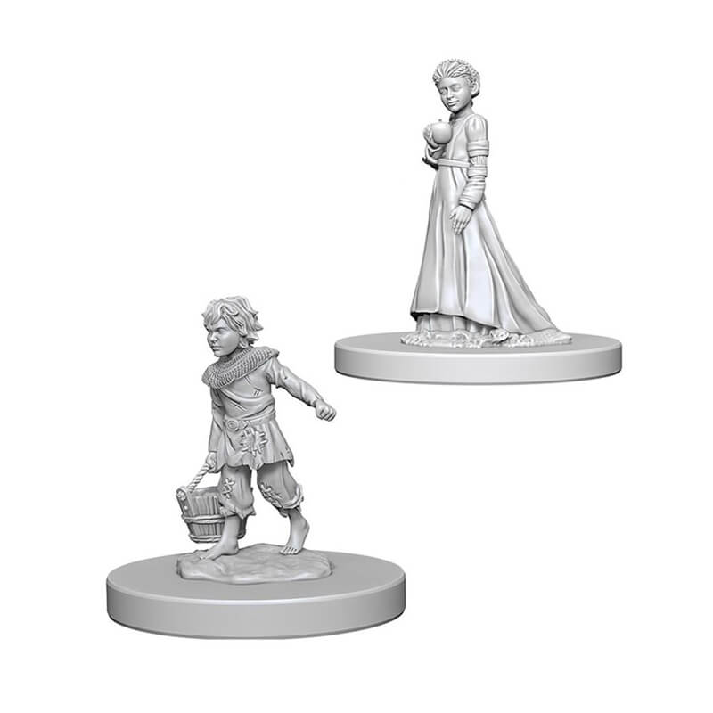 Pathfinder Deep Cuts Unpainted Miniatures - Children - Imaginary Adventures