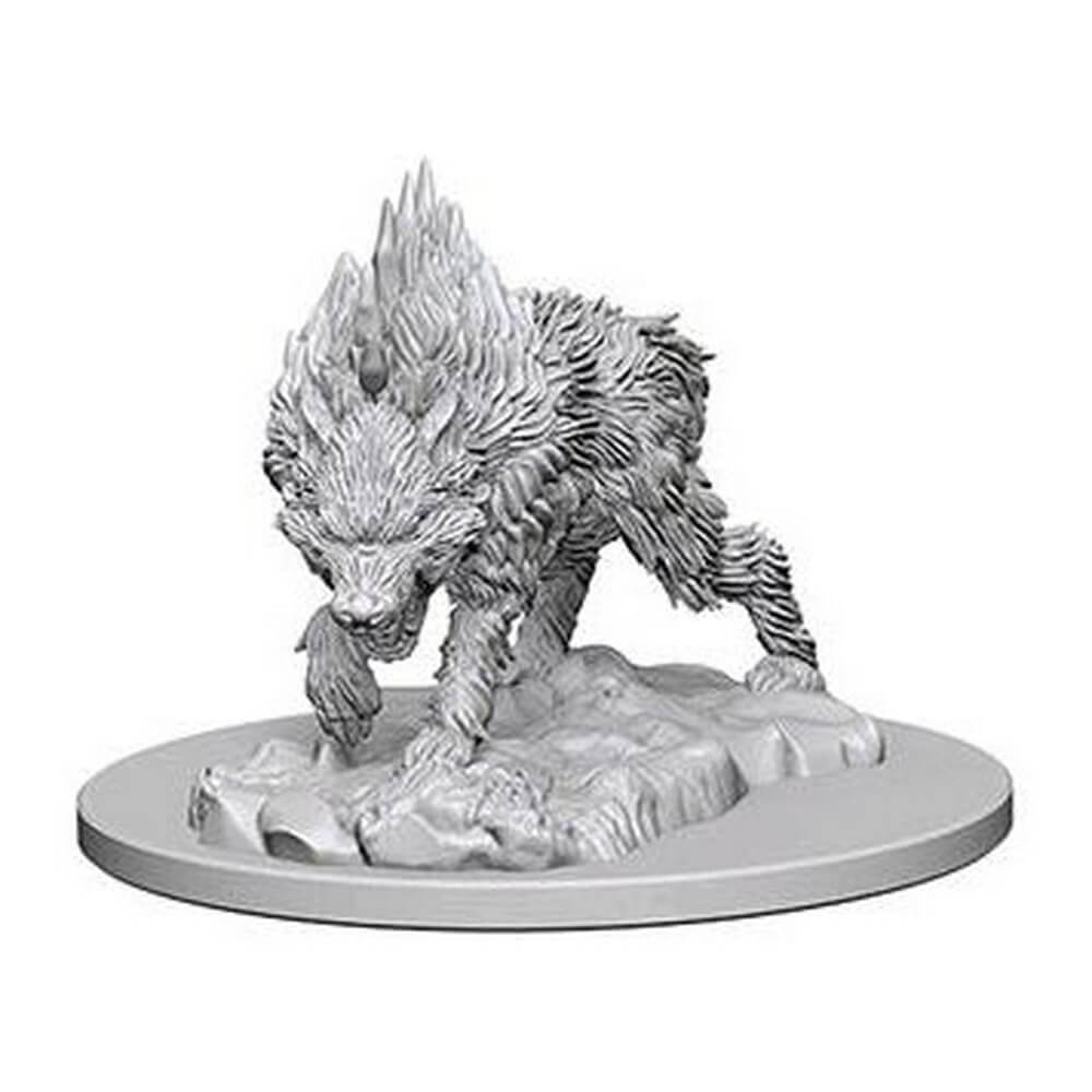 Pathfinder Minis - Dire Wolf - Imaginary Adventures