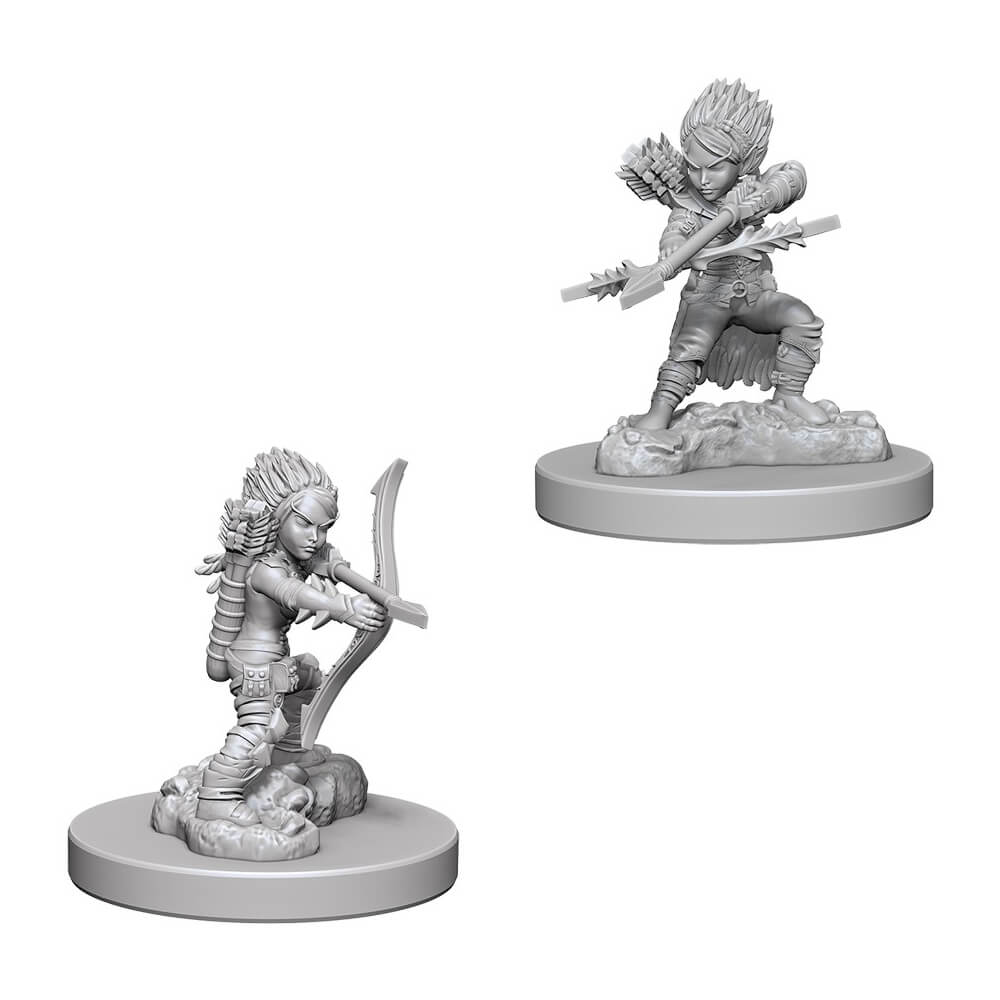 Pathfinder Minis - Female Gnome Rogue - Imaginary Adventures