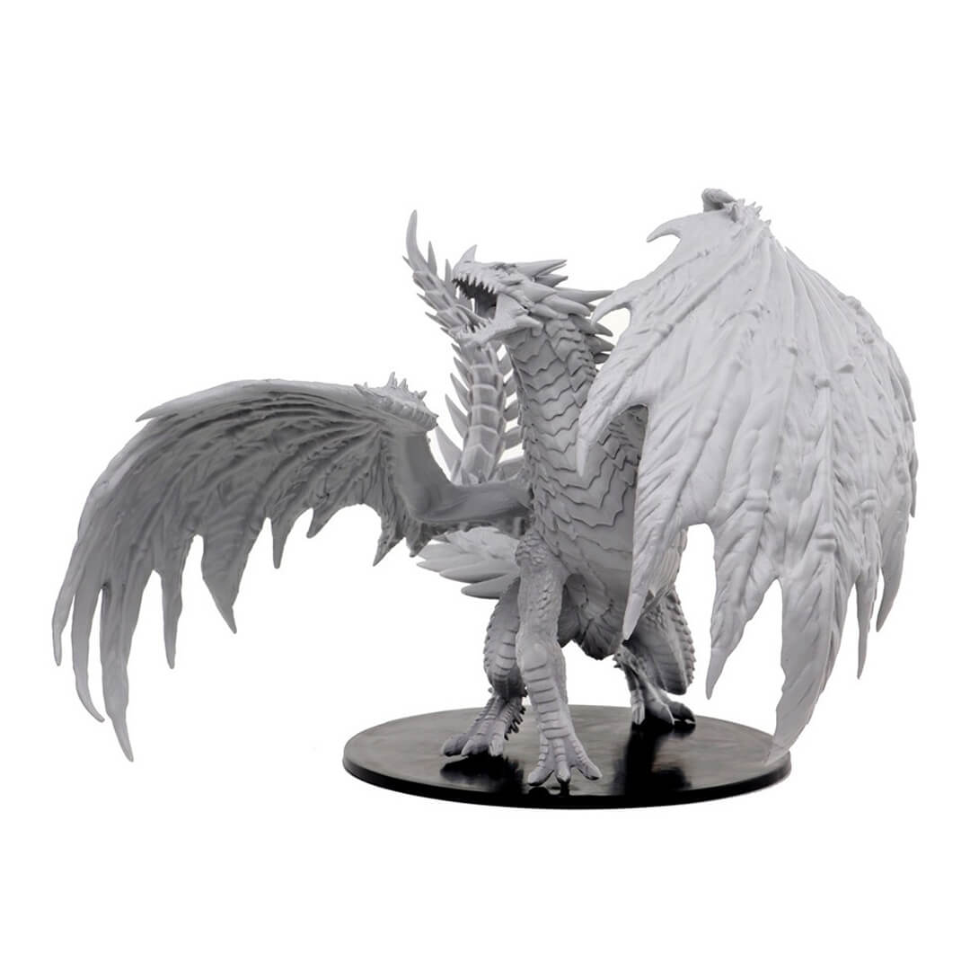 Pathfinder Deep Cuts Unpainted Minis - Gargantuan Red Dragon