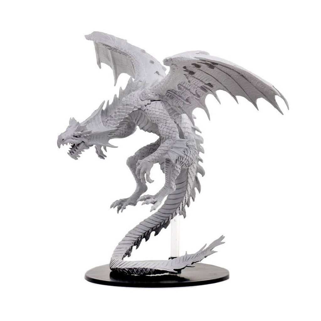Pathfinder Minis - Gargantuan White Dragon - Imaginary Adventures