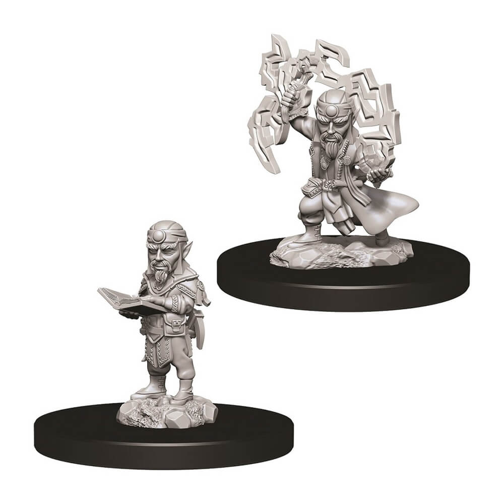 Pathfinder Minis - Male Gnome Sorcerer