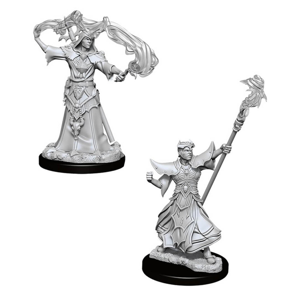 Pathfinder Minis - Male Human Sorcerer - Imaginary Adventures