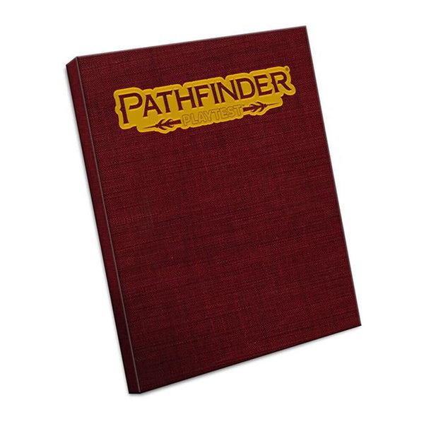 Pathfinder Playtest Rulebook Special Edition Hardcover - PREORDER (AUG) - Imaginary Adventures