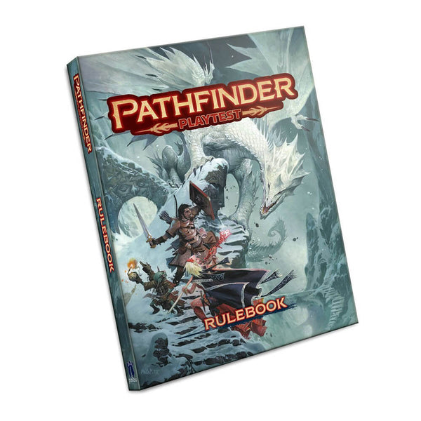 Pathfinder Playtest Rulebook Hardcover - PREORDER (AUG) - Imaginary Adventures