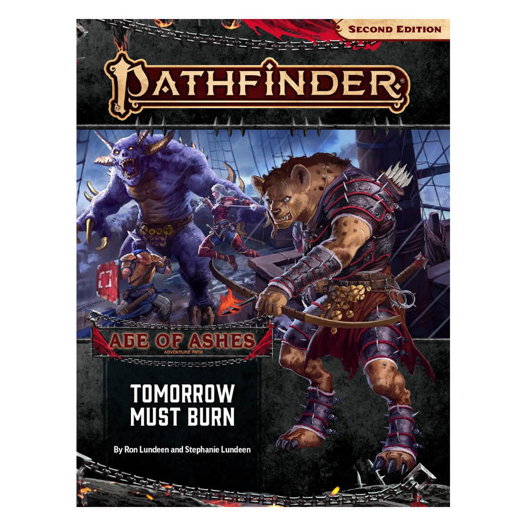 Pathfinder Adventure Path - Tomorrow Must Burn (Age of Ashes 3 of 6) - Imaginary Adventures