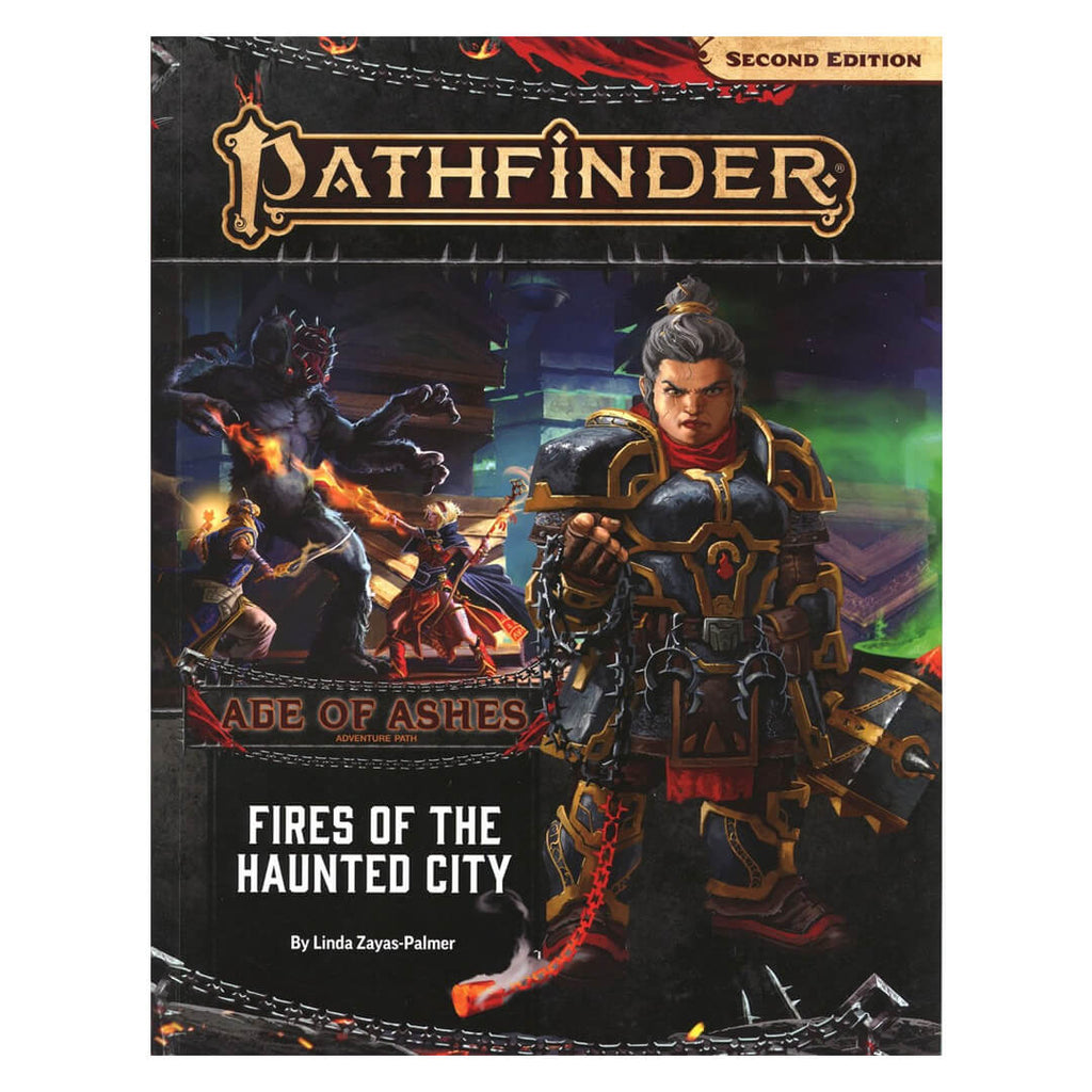Pathfinder Adventure Path - Fires of the Haunted City (Age of Ashes 4 of 6) - Imaginary Adventures