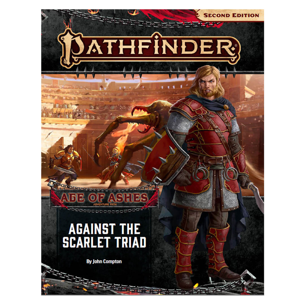 Pathfinder Adventure Path - Against the Scarlet Triad (Age of Ashes 5 of 6) - Imaginary Adventures