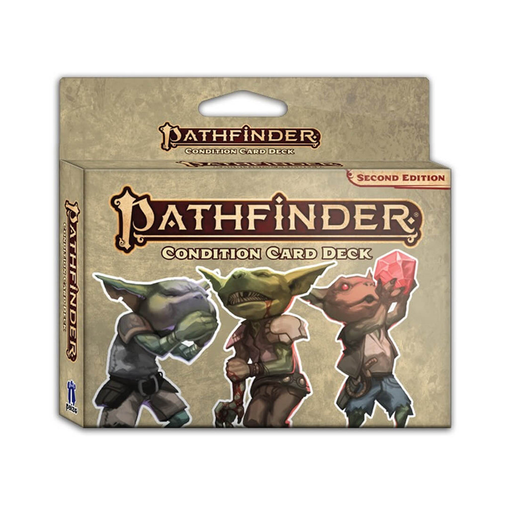 Pathfinder Second Edition Condition Card Deck - Imaginary Adventures
