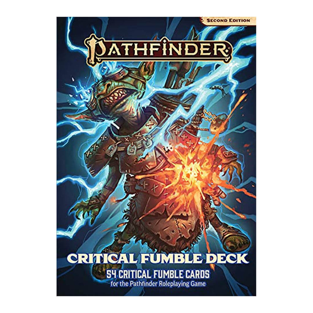 Pathfinder Second Edition Critical Fumble Deck
