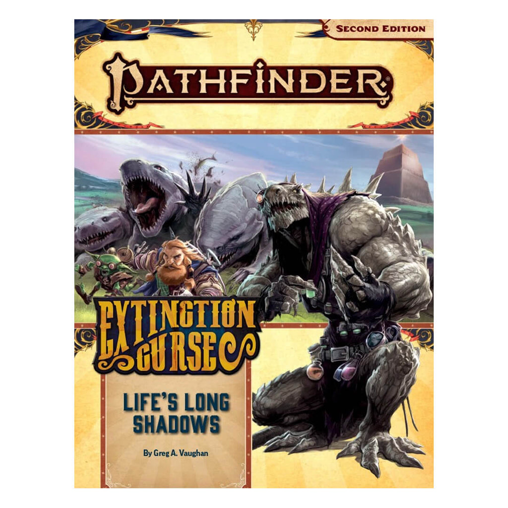 Pathfinder Adventure Path - Life's Long Shadows (Extinction Curse 3 of 6)