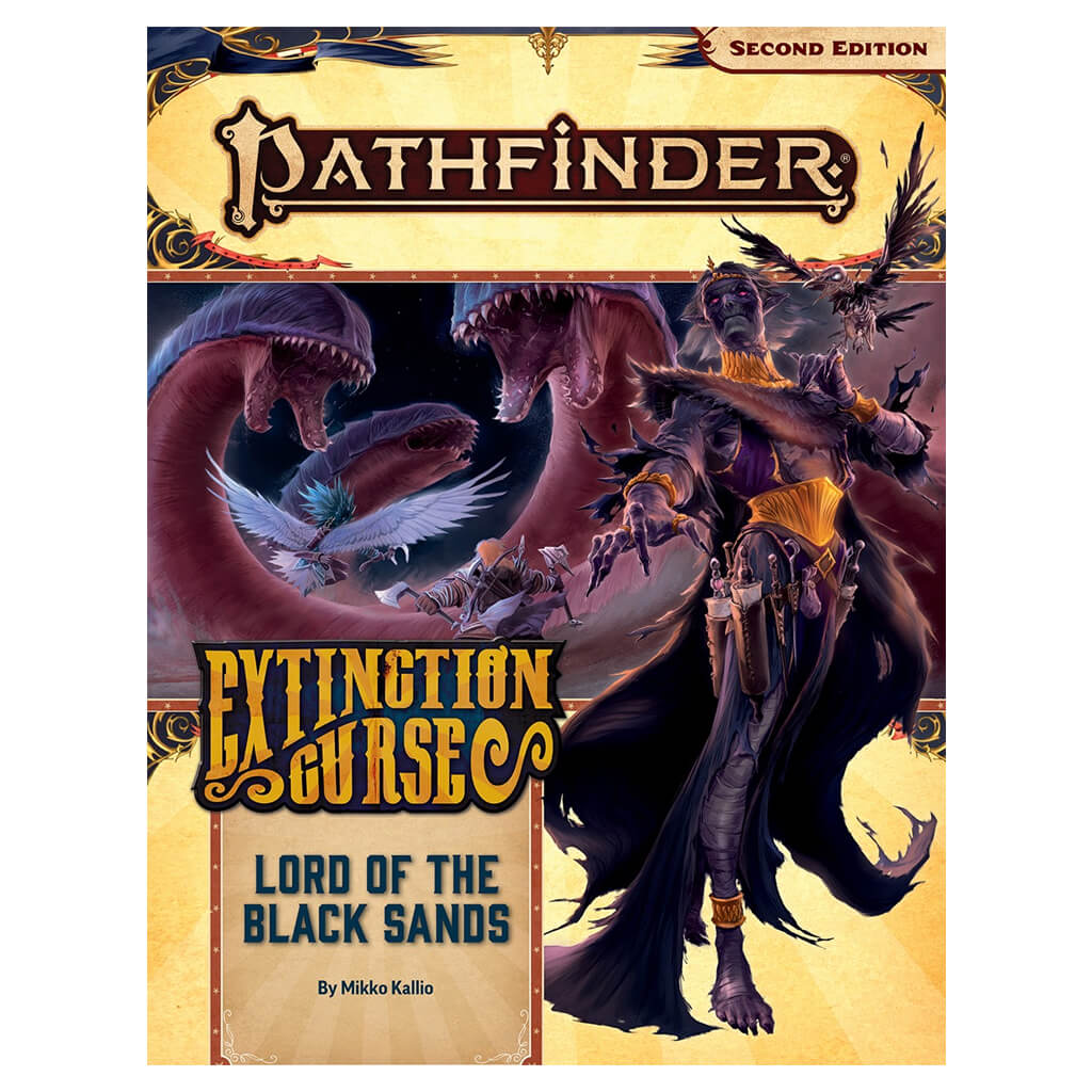 Pathfinder Adventure Path - Lord of the Black Sands (Extinction Curse 5 of 6)