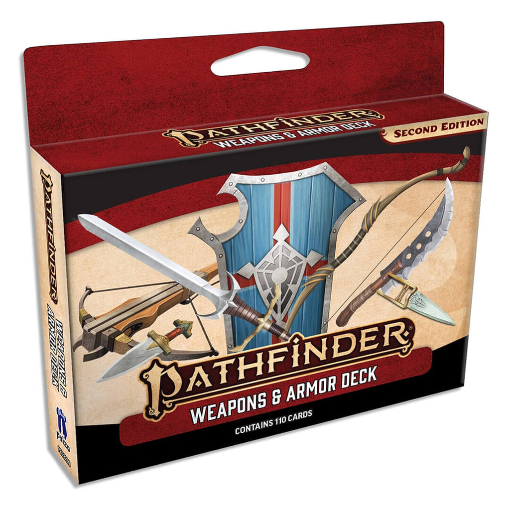 Pathfinder Second Edition Weapons & Armor Deck - Imaginary Adventures