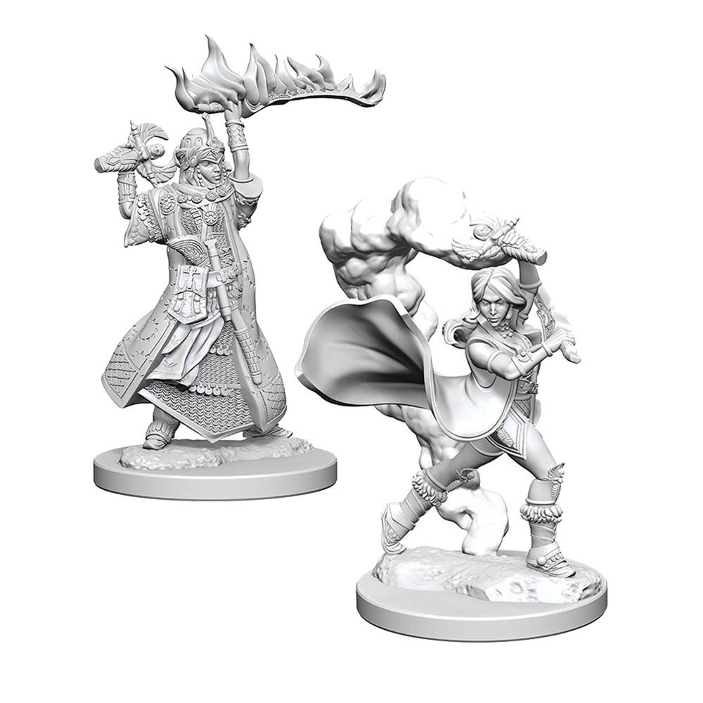 Pathfinder Minis - Human Female Cleric - Imaginary Adventures