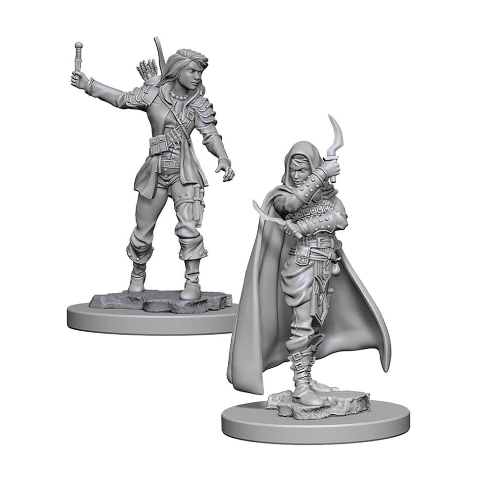 Pathfinder: Deep Cuts Unpainted Miniatures: Human Female Rogue - Imaginary Adventures