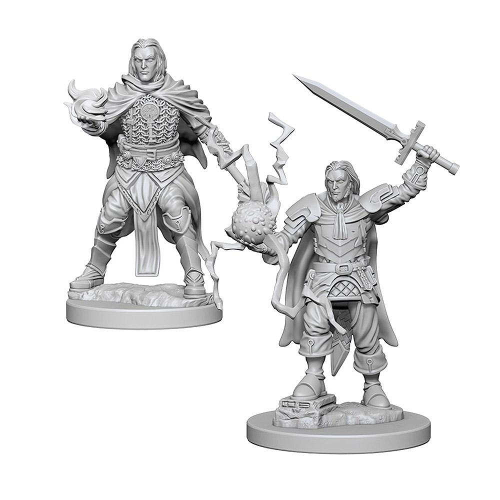 Pathfinder: Deep Cuts Unpainted Miniatures: Human Male Cleric - Imaginary Adventures