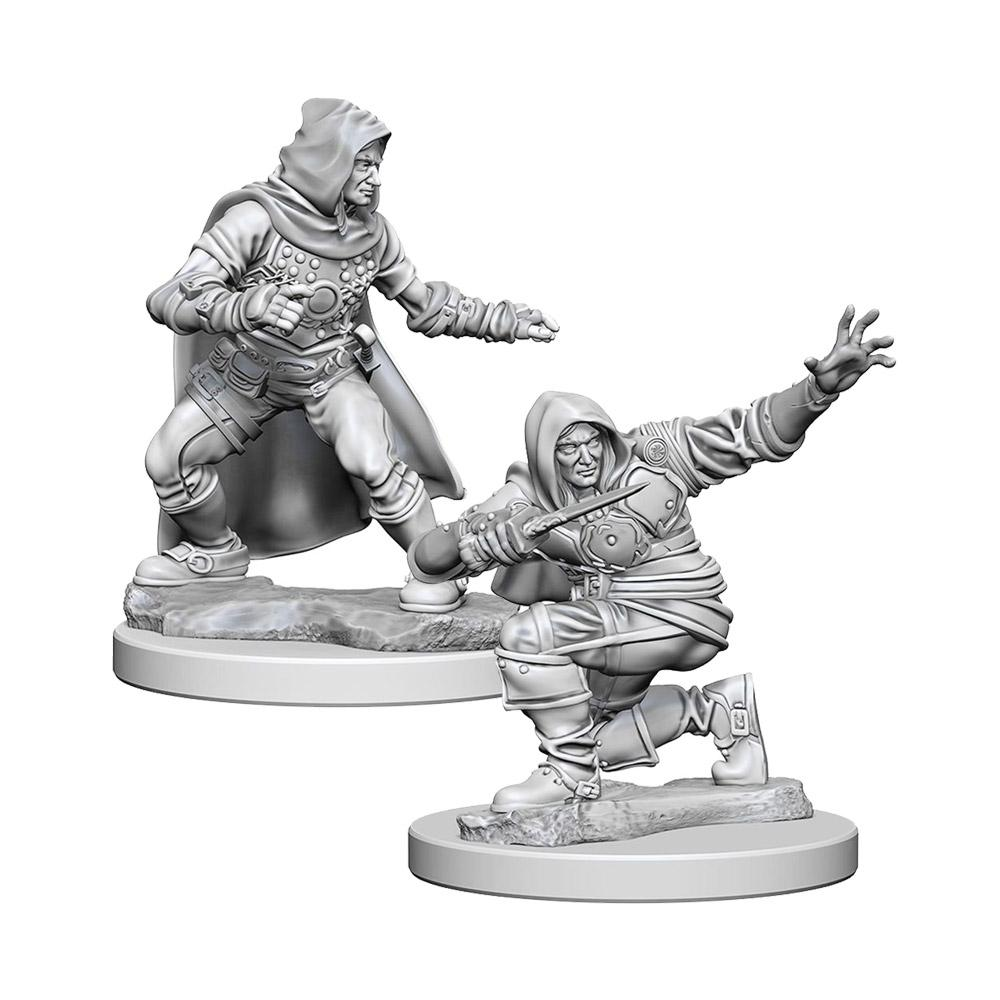 Pathfinder Minis - Human Male Rogue - Imaginary Adventures
