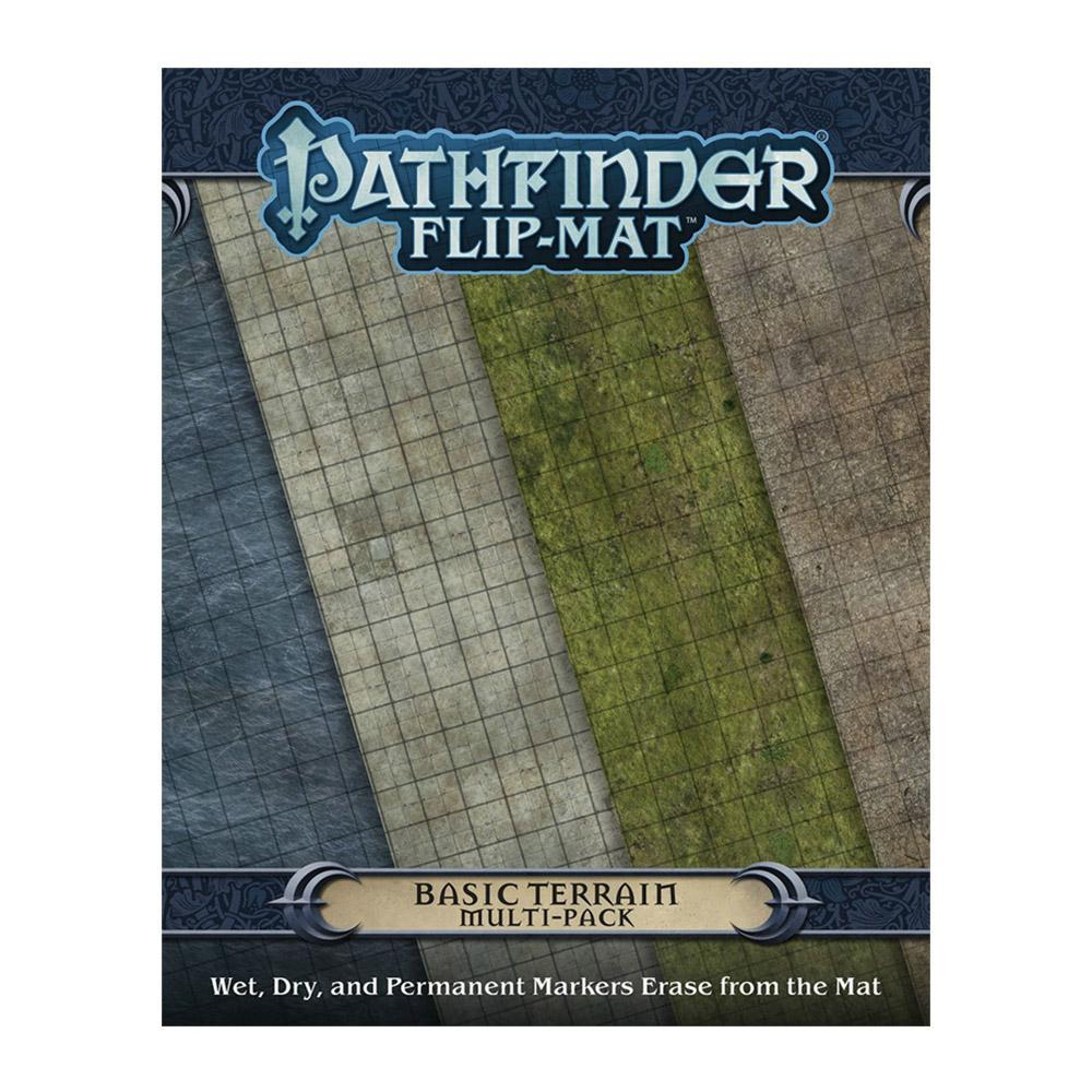 Pathfinder Flip Mat Basic Terrain Multi-Pack - Imaginary Adventures