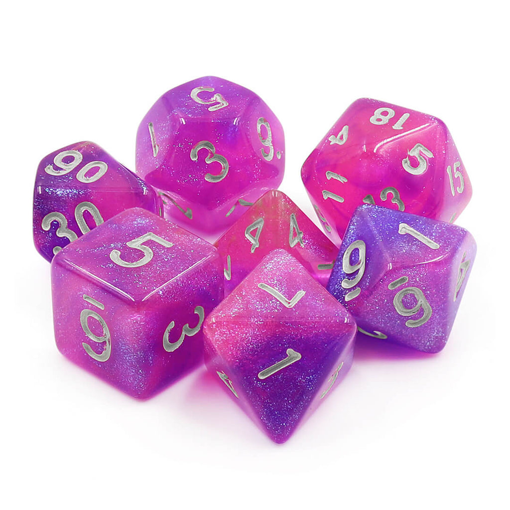 7 Dice Set - Briar Rose - Imaginary Adventures