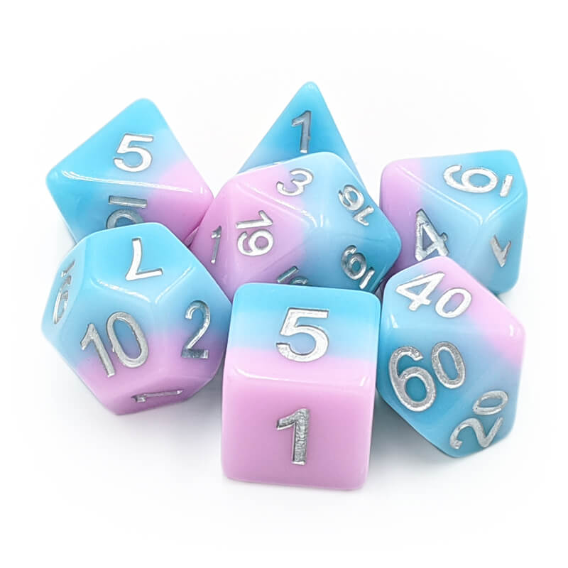 7 Dice Set - Whisper - Imaginary Adventures
