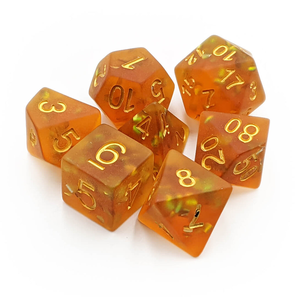 7 Dice Set - Frosted Mermaid - Imaginary Adventures