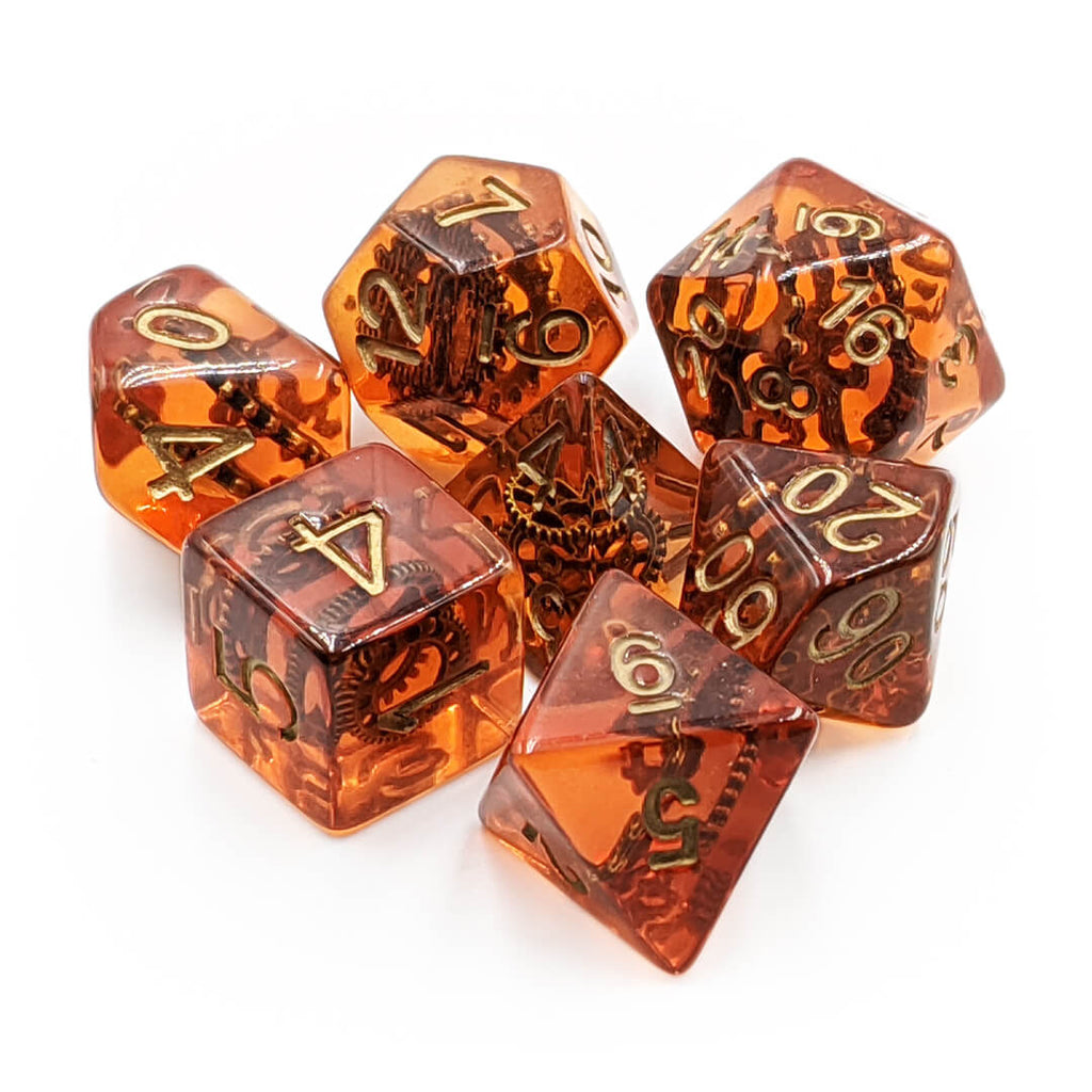 7 Dice Set - Gears