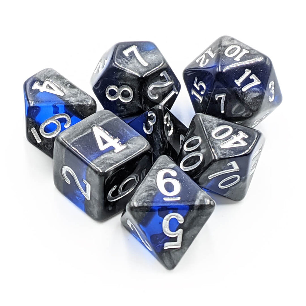 7 Dice Set - Mineral - Imaginary Adventures