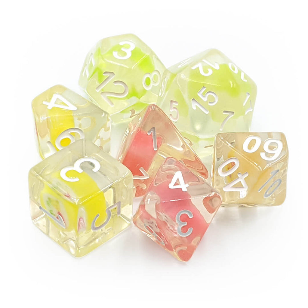 7 Dice Set - Oversized Candy - Imaginary Adventures