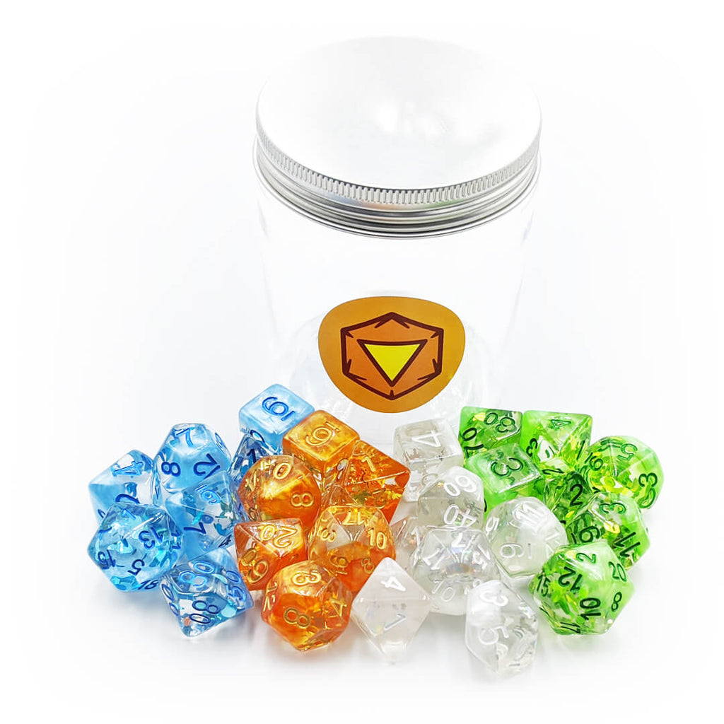 Four Seasons Dice Jar Bundle - Imaginary Adventures