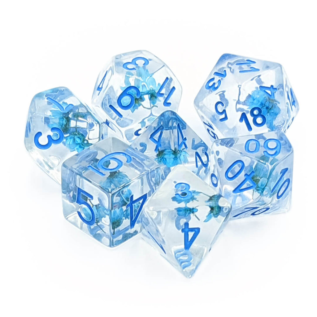 7 Dice Set - Blossom - Imaginary Adventures