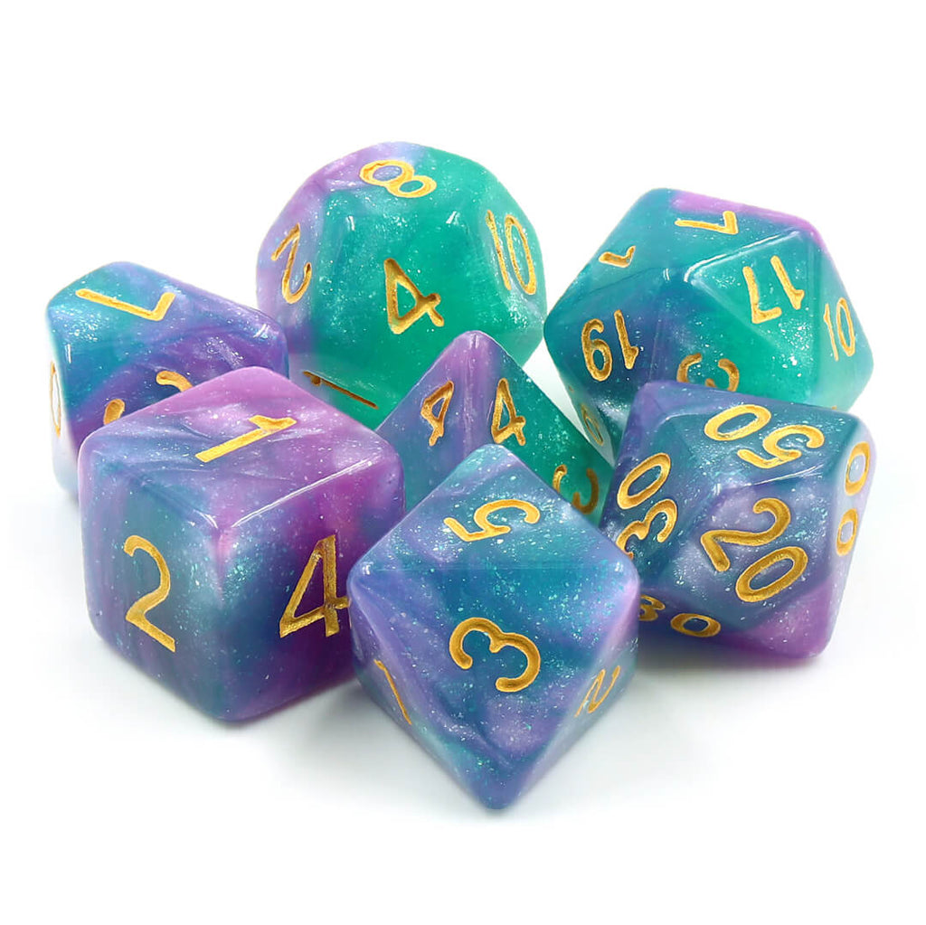 7 Dice Set - Byzantium - Imaginary Adventures