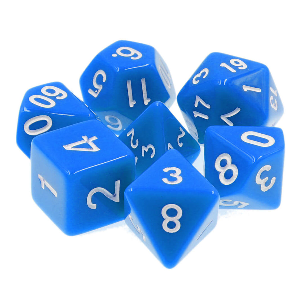 7 Dice Set - Classic - Imaginary Adventures
