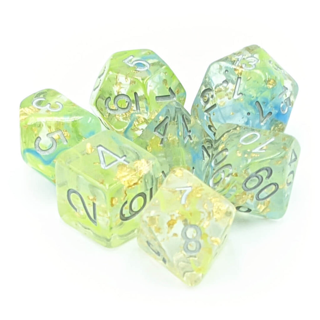7 Dice Set - Mermaid's Treasure - Imaginary Adventures