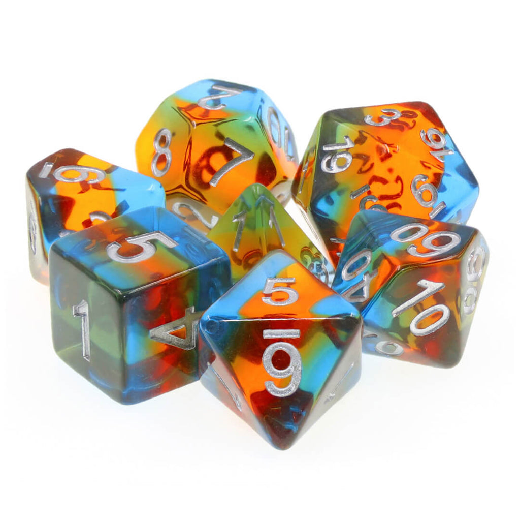 7 Dice Set - Parallel Universe - Imaginary Adventures
