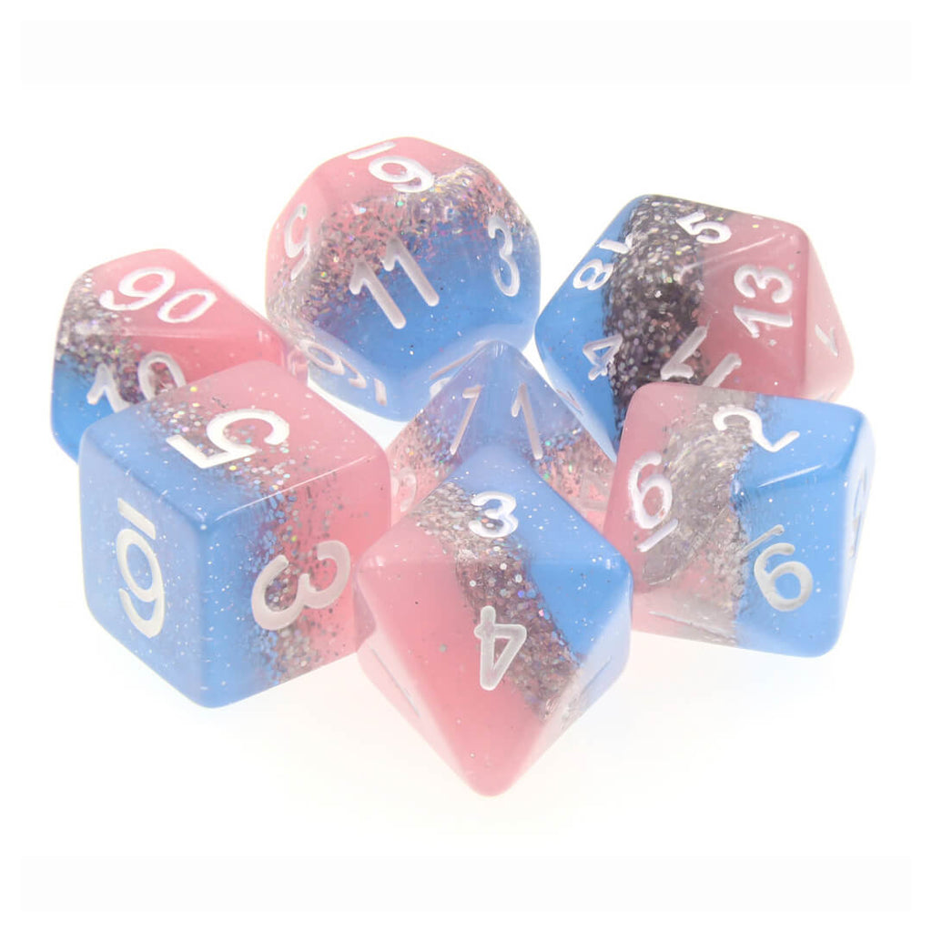 7 Dice Set - Shooting Star - Imaginary Adventures