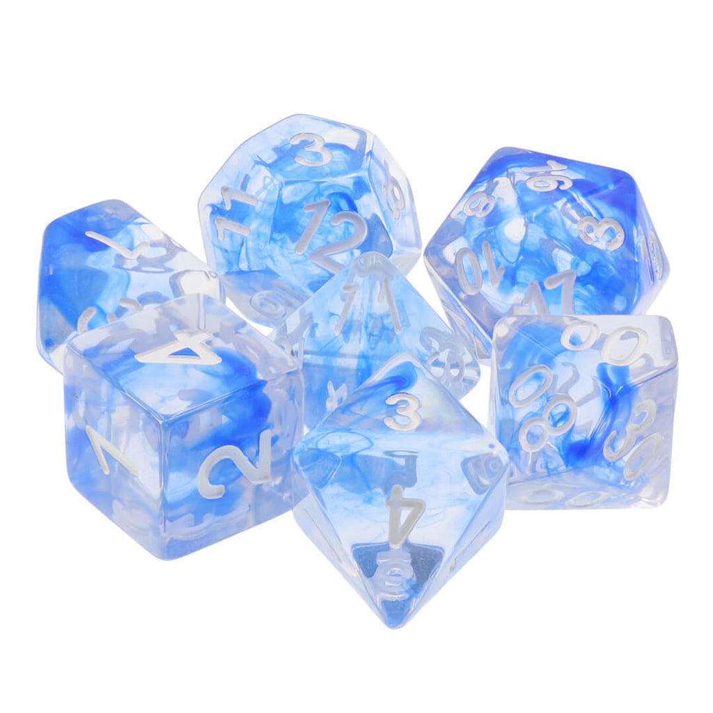 7 Dice Set - Smoke - Imaginary Adventures