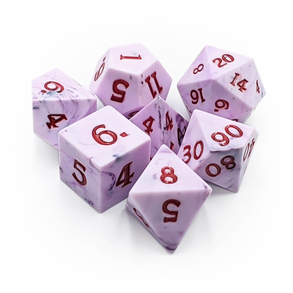 Sharp Edge 7 Dice Set - All Hallow's Eve