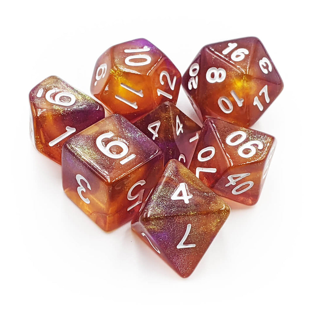 7 Dice Set - Supernova