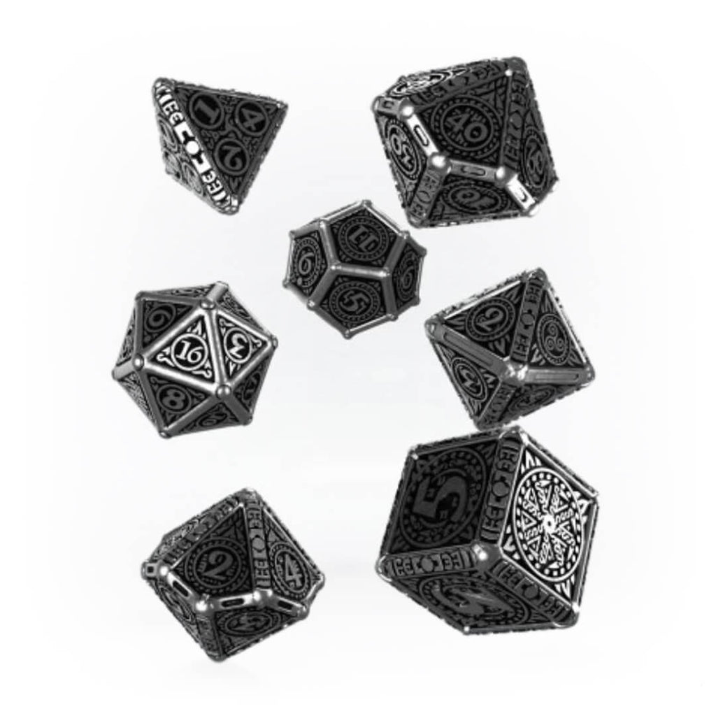 Q-workshop Metal Svetovid 7 Dice Set - Imaginary Adventures