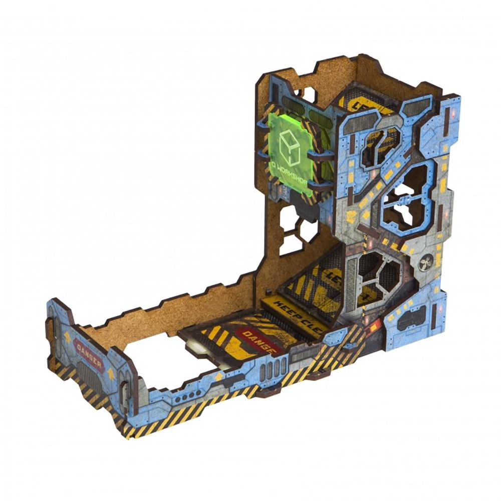 Q-Workshop Tech Colour Dice Tower - Imaginary Adventures