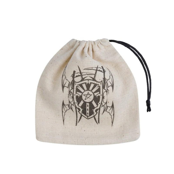 Basic Dice Bag - Vampire - Beige & black - Imaginary Adventures